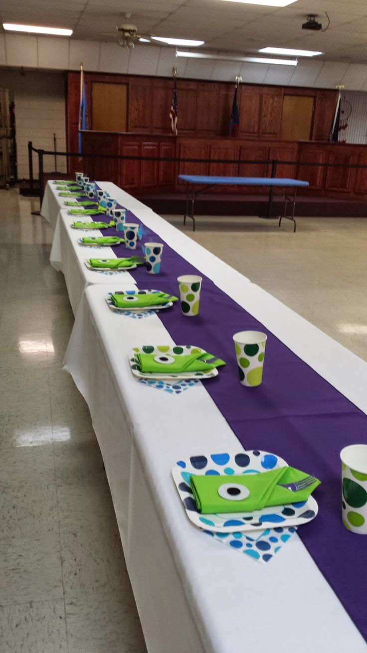 The Rooneys: We're having a monster! Monster Inc baby shower for baby boy on a budget