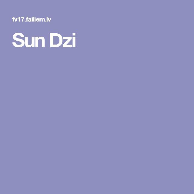 Sun Dzi