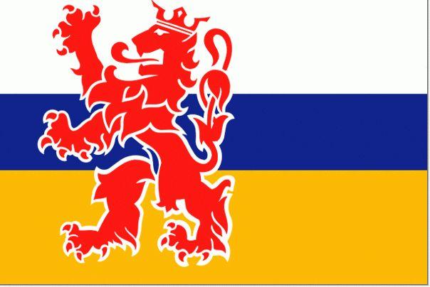 Limburgse Flag (Limburg is a provence of The Netherlands)