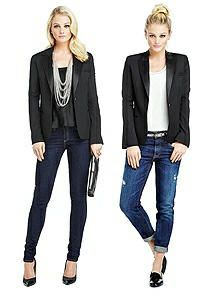 Marlowe Women's Tuxedo Jacket - Peak Collar http://www.dessy.com/tuxedos/marlowe-womens-tuxedo-jacket/