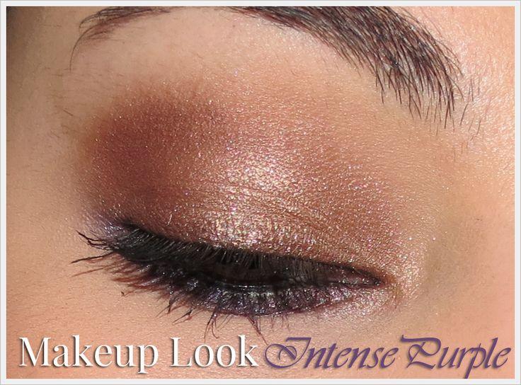 Makeup Look: Intense Purple