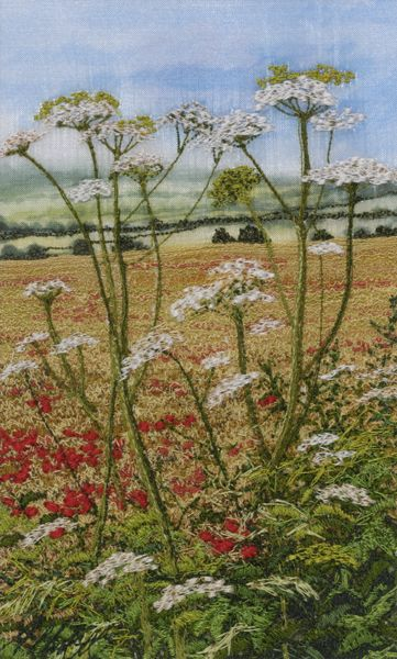 Poppies and Cow Parsley - Alison Holt