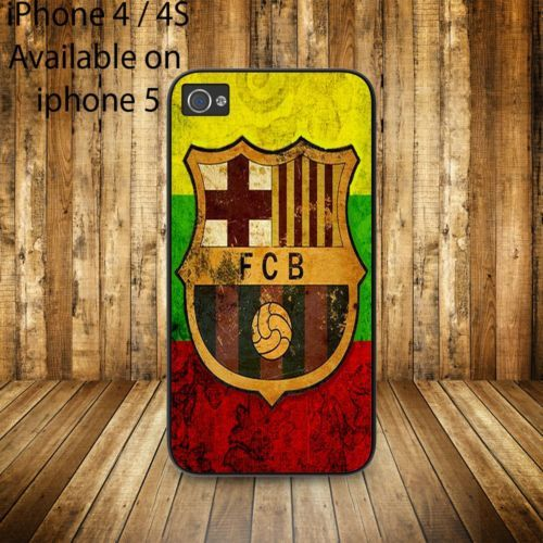 fc barcelona logo for iphone 4/4s case iphone 5 case iphone 5s case