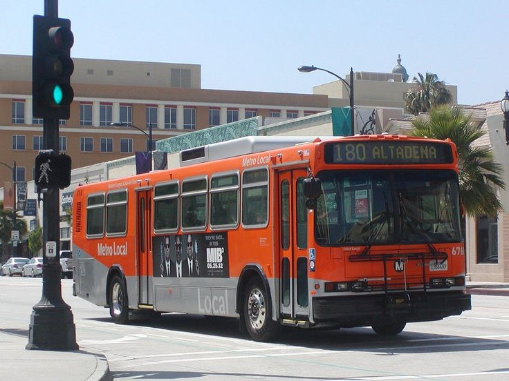 Lacmta Metro Local Neoplan An440 Transit Bus Number 6768