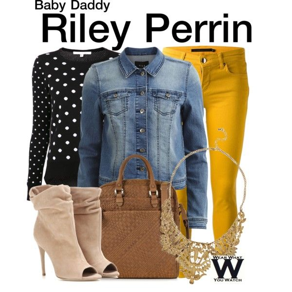 Inspired by Chelsea Kane as Riley Perrin on Baby Daddy.                                                                                                                                                                                 More
