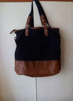 Kup mój przedmiot na #vintedpl http://www.vinted.pl/damskie-torby/torby-na-ramie/11261072-duza-regulowana-czarna-torebka-hm