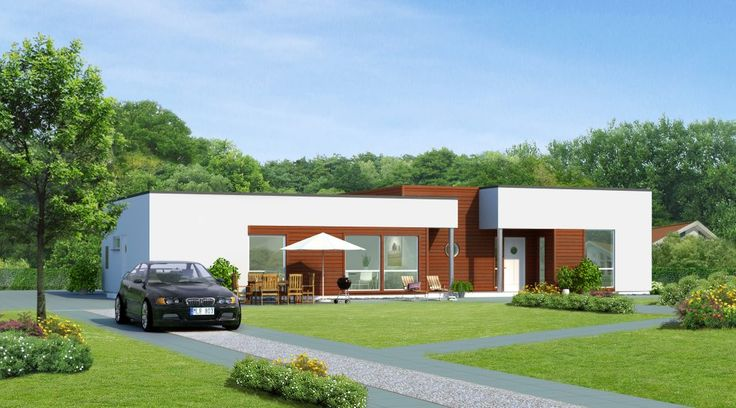 Gronas self build kit home from sweden beautiful homes for Self build kit home designs