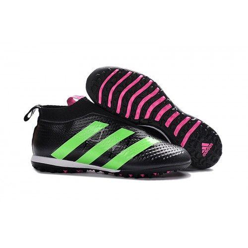 2017 Kopačky Adidas Ace16 Purecontrol TF Černá Zelená Online