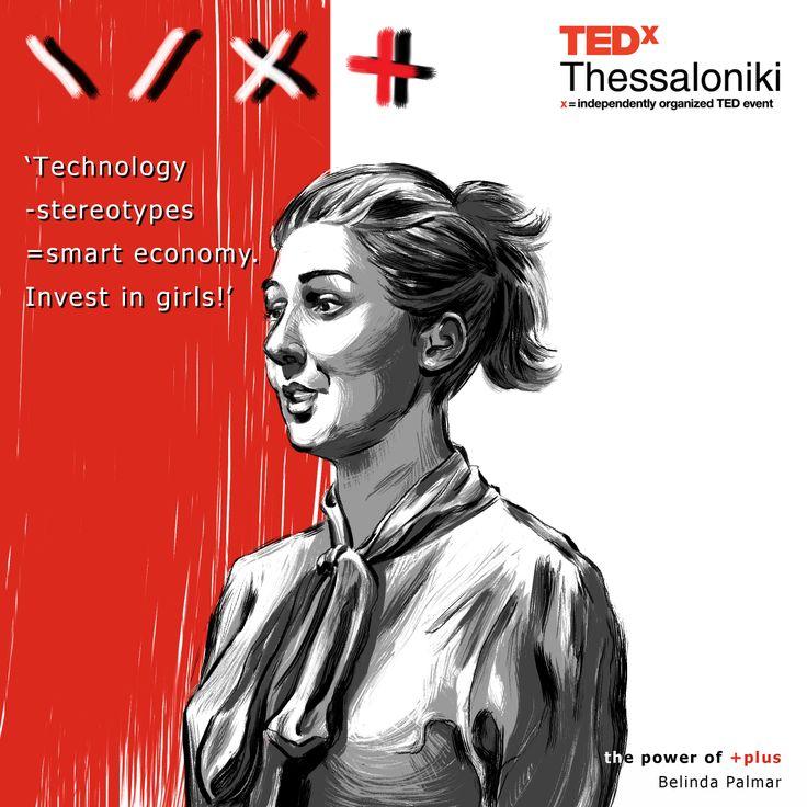 Belinda Parmar at TEDx Thessaloniki 2013.