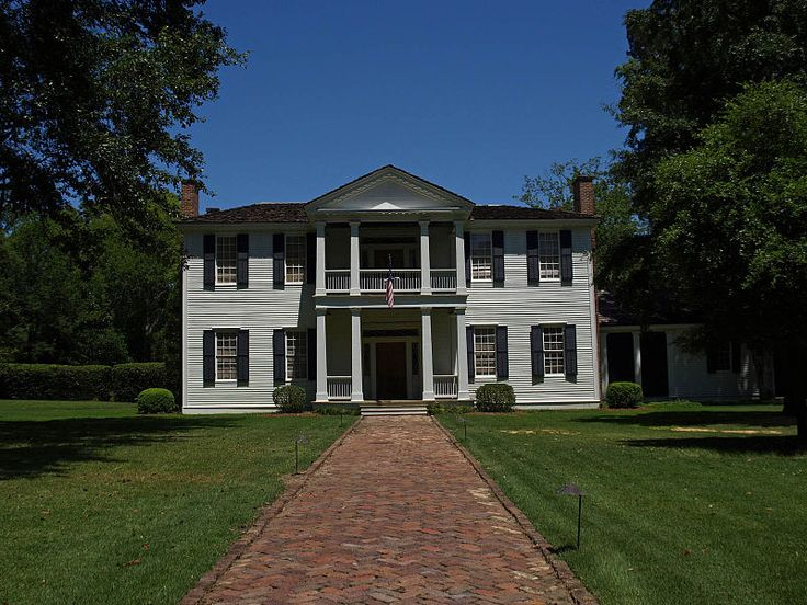 Edgewood Also Known As The Thomas House Montgomery Al