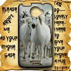 White Horses 2 HTC One X Case Full Wrap #HTCOne #HTCOneX #PhoneCase #HTCOneCase #HTCOneXCase