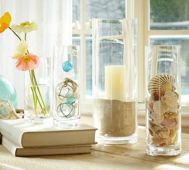 46 best glass decor idea images on Pinterest Nature DIY and