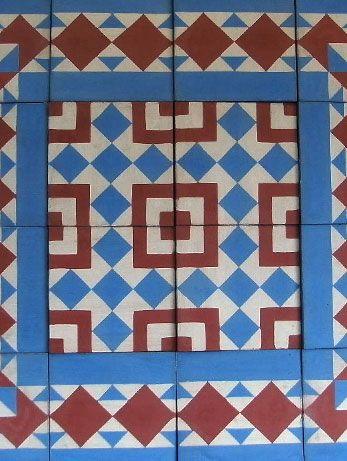 viancha miranda baldosas baldosines cenefas mosaicos deu