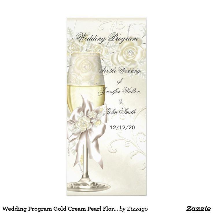 701 best Wedding: Ceremony Programs images on Pinterest | Wedding ...