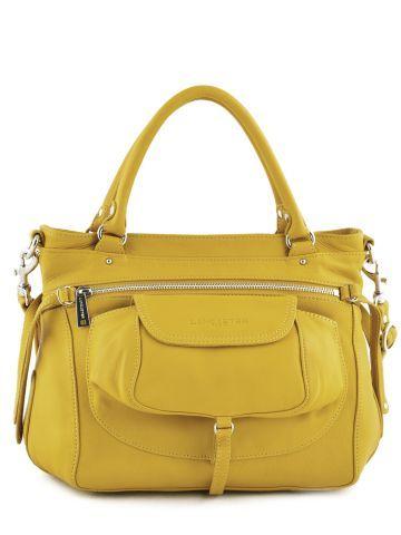 Sac Lancaster jaune Soft vintage nova Je l'ai en vert, manque le jaune !