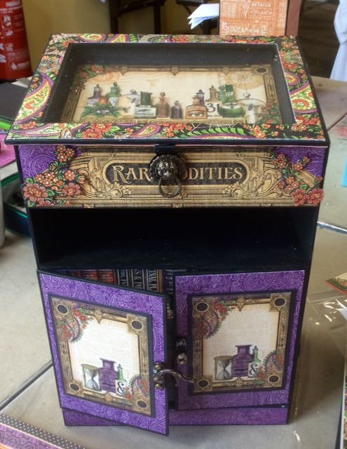 Rare Oddities Bureau by Denise at Clare Charvills Crafters Retreat; June 2015