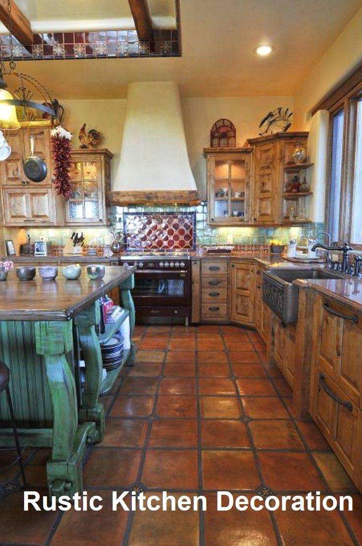 Rustic Kitchen Ideas Spanish Kitchen Decor Spanish Style