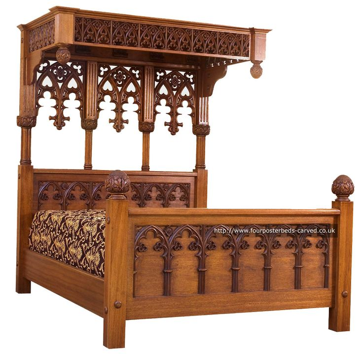 die besten 25 gothic bed frame ideen auf pinterest. Black Bedroom Furniture Sets. Home Design Ideas