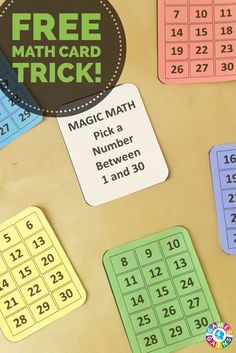 This exciting math numbers trick really gets students thinking!