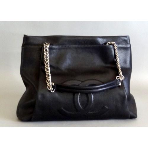 Chanel Black Caviar Timeless Shopper Bag - Chanel - Brands   Portero Luxury