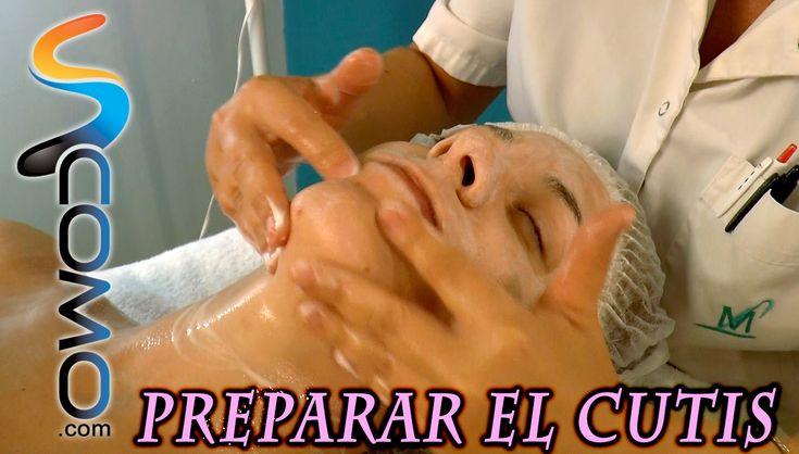 Cómo preparar el cutis - limpieza facial profesional (1/3)