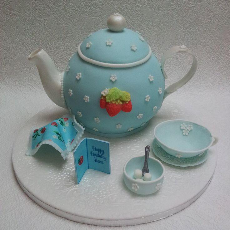 Teapot cake                                                                                                                                                                                 More