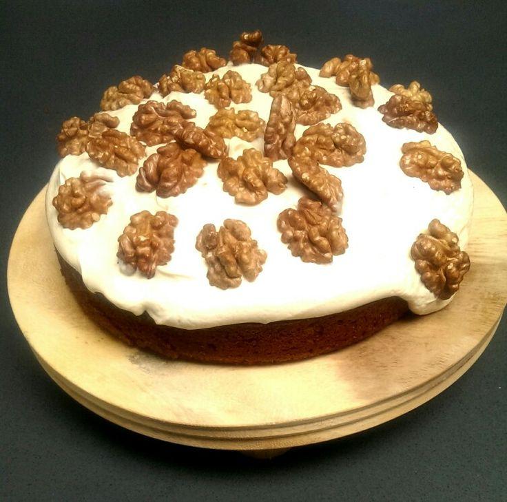 Moccha walnut cake
