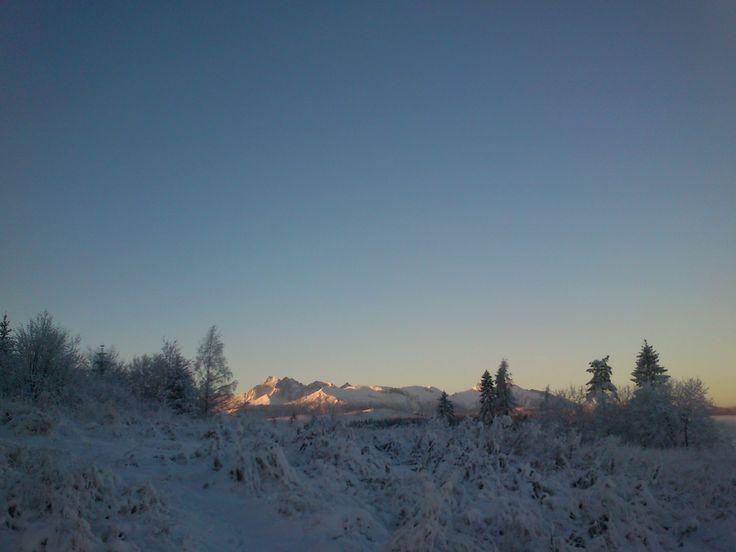 Zasnežené Tatry. Snowy Tatras ;). #hightatras #snowy #tatry #slovakia