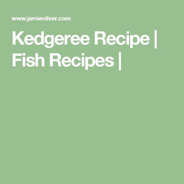 Kedgeree Recipe   Fish Recipes  