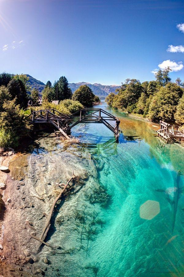 #ArgentinaEnFotos - Aguas cristalinas en Bariloche.