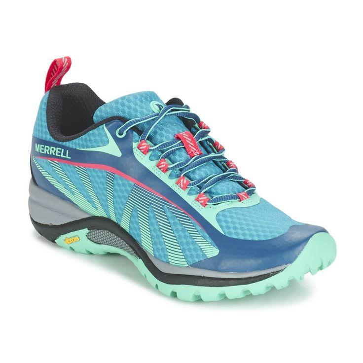 Merrell SIREN EDGE Bleu prix promo Chaussures de randonnée Femme Spartoo 99.99 €
