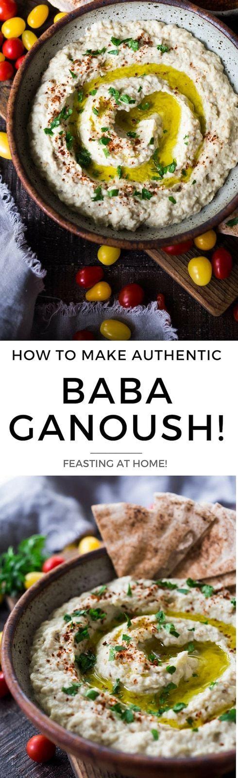 Authentic Baba Ganoush