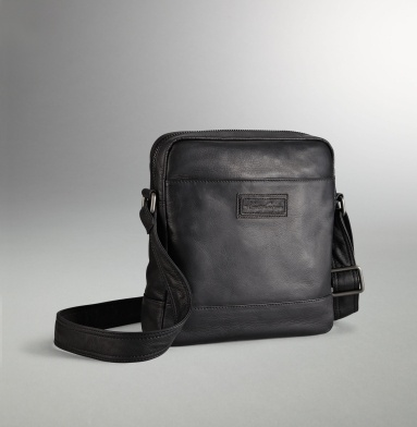 Colombian Leather Day Bag - Men's Bags - Kenneth Cole