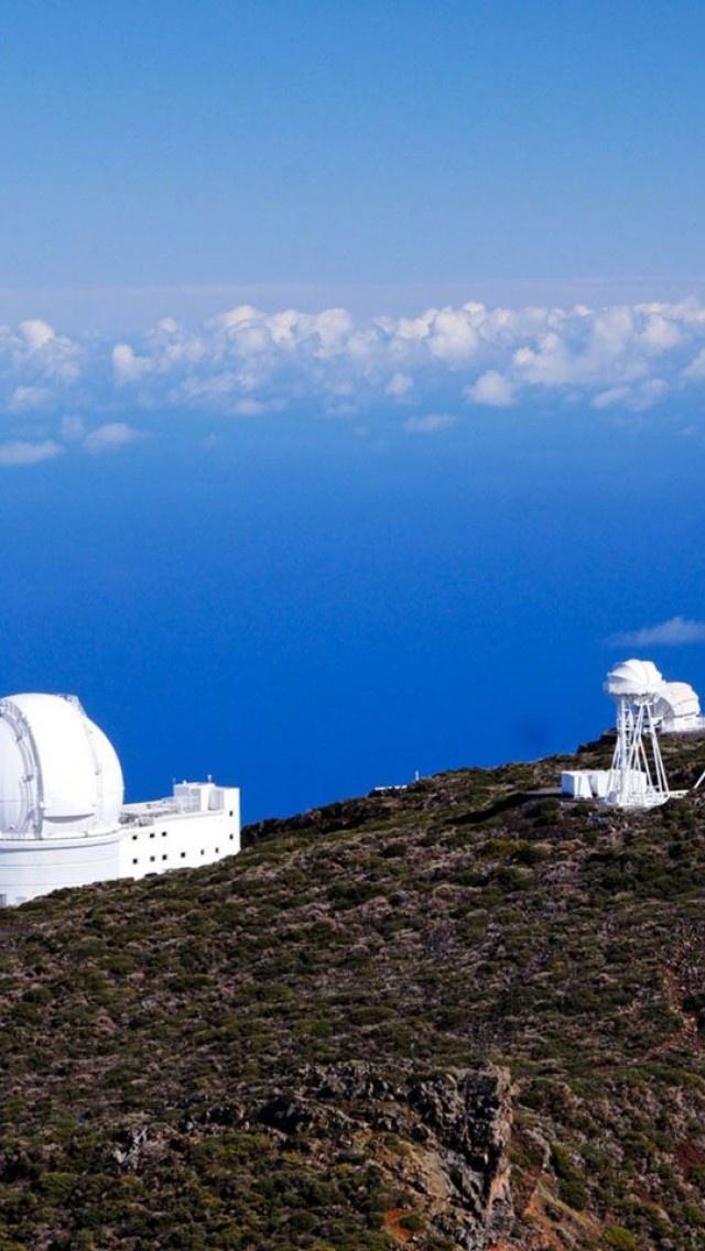 Roque de los Muchachos, Observatory, La Palma, Canary Islands, Spain
