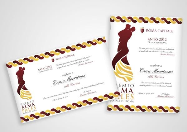 Premio Alma Pales by Saverio Giove, via Behance