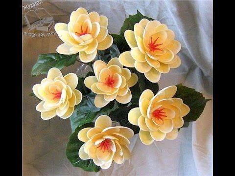 Цветы из ракушек | Поделки из ракушек