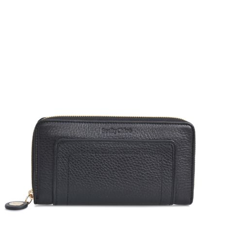 Long Zipped Bluebell Wallet - Small Leather Goods US