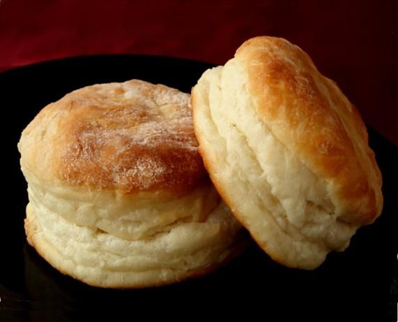 Yeast Biscuits from Food.com:   								These biscuits work every time and are really good for making ham biscuits or other 'sandwiches'. They hold up well and yet are tender with a wonderful flavor. Prep time includes rest time.
