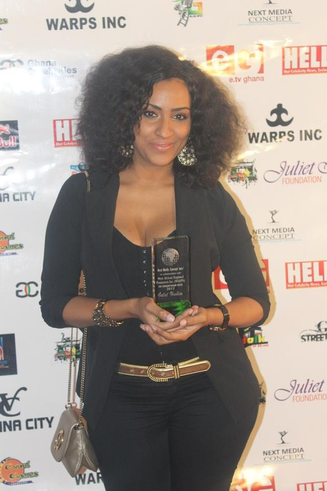 "Actress Juliet Ibrahim is one of Ghana's most highly paid movie stars and she is of Ghanaian-Lebanese descent - Funky Fashions - African Designers & Models - Funk Gumbo Radio: http://www.live365.com/stations/sirhobson and ""Like"" us at: https://www.facebook.com/FUNKGUMBORADIO"