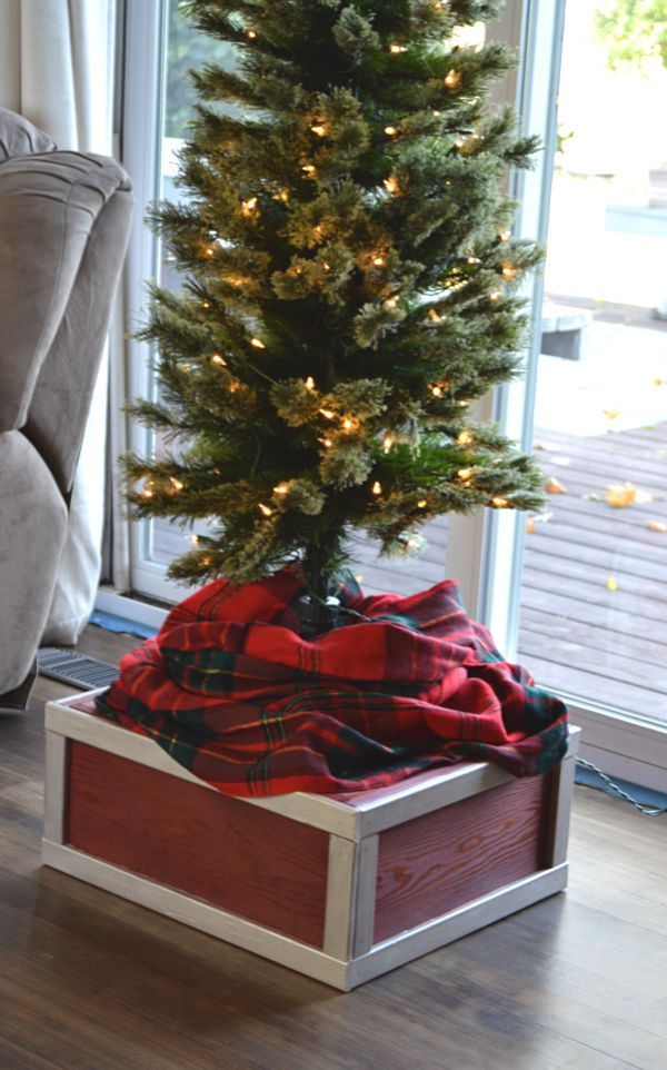 Diy Christmas Tree Platform Diy Christmas Tree Large Christmas Tree Christmas Tree
