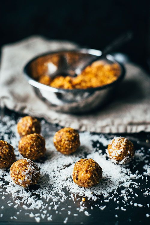 Sea buckthorn energy balls in the making on Goodeatings.com
