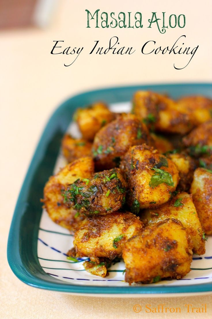The secret to absolutely delicious Masala Aloo Recipe | Saffron Trail
