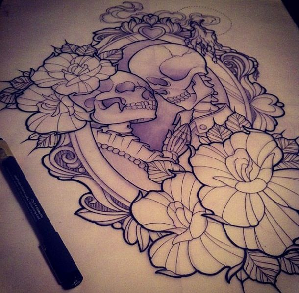 think i found the beginning to a chest piece | I'll burn your'e name into my…