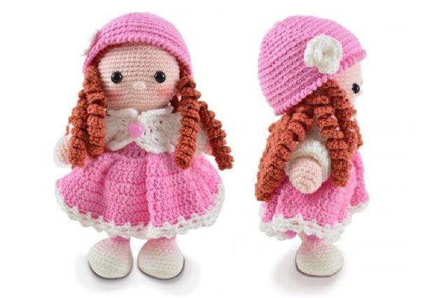 Tutorial: hello kitty bailarina tejida a crochet (amigurumi ... | 426x640