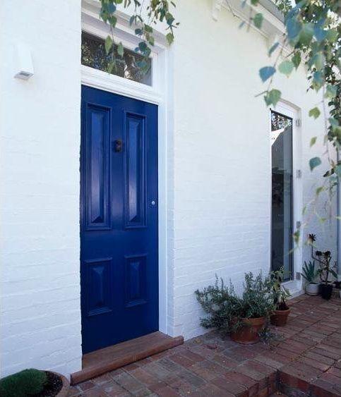 Cobalt blue front door for the future house pinterest - Pictures of blue front doors ...