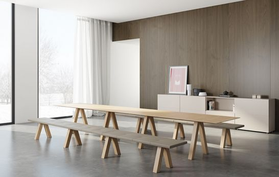 Trestle by John Pawson for Viccarbe