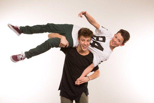 Cameron Dallas and Jacob Sarontos