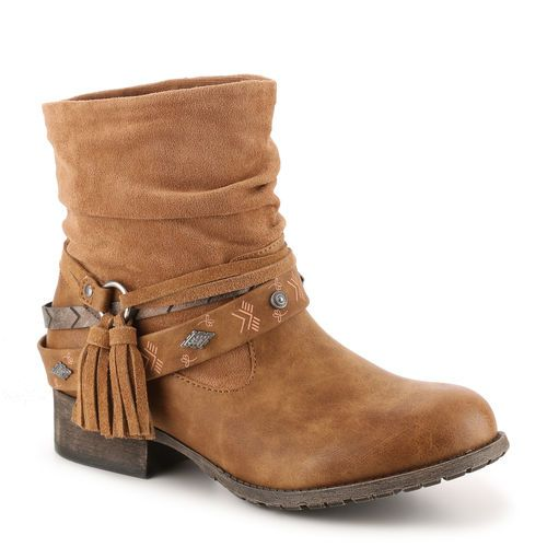Milton Bootie. This boot will be perfect for your August wardrobe! #gordmans #shoes #boho