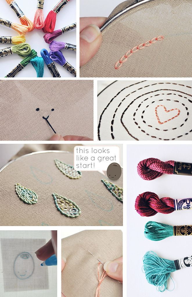 Great resource for hand stitching projects