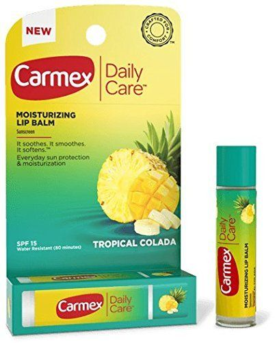 USE:  Carmex Daily Care Moisturizing Lip Balm SPF15